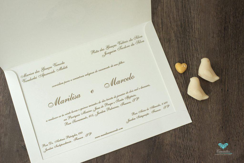 O Que Escrever No Convite De Casamento Gráfica Seixas