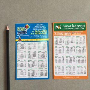 Impressão de Calendário com imã