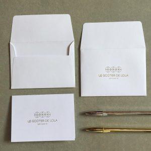 Impressão de Cartão de Agradecimento