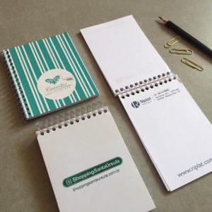 Impressão de Mini Caderneta com Espiral