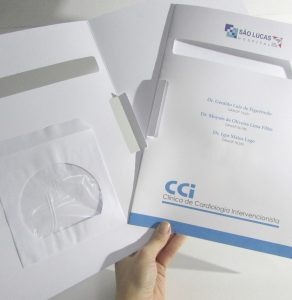 Impressão de Pasta com Capinha de CD
